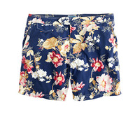 "J.Crew Mens 6.5"" Tab Swim Short In Exploded Floral"