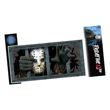 Halloween Decorations: Jason Wall Window Decal