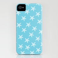Aqua Starfish iPhone & iPod Case by Zen and Chic