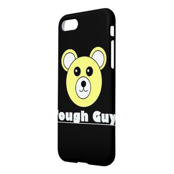 Cute Tough Guy Bear Face IPhone 8/7 Case Cover