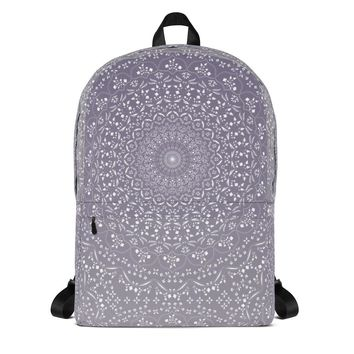 Mandala in Purple Backpack