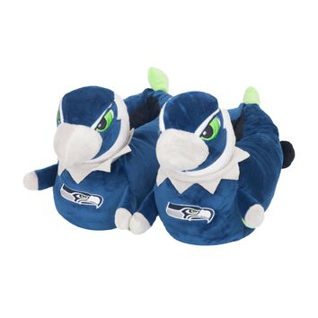 Seattle Seahawks Official NFL 3d Mascot Slipper - Youth 8-16