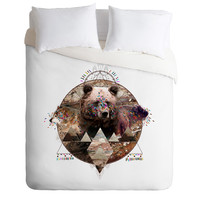Kris Tate ANIMAL ECHOES Duvet Cover