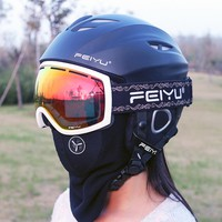 Ski helmet Ultralight Breathable Snowboard helmet men women Skateboard helmet Multi Color 50-58cm Head Circumferencess