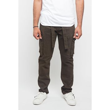 Tied Color Cargo Pants
