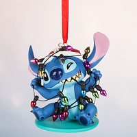 Stitch Sketchbook Ornament - Personalizable | Disney Store
