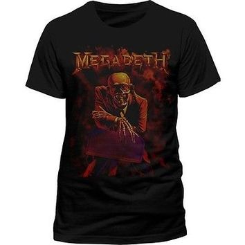 MEGADETH Peace Sells T SHIRT S M L XL XXL Metal Band Tshirt Official T-Shirt NEW