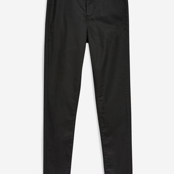 Black Coated Joni Jeans | Topshop