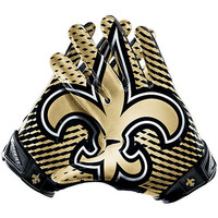 Men's Nike New Orleans Saints Vapor Jet 2.0 Gloves