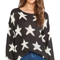 Wildfox Couture Seeing Stars Lennon Sweater in Black