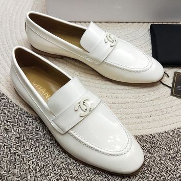 Chanel   Women Fashion Simple Casual Loafers  Shoes