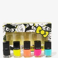 Hello Kitty® Neon Nail Polish Set