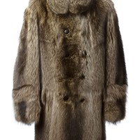 Sprung Frères double breasted fur coat