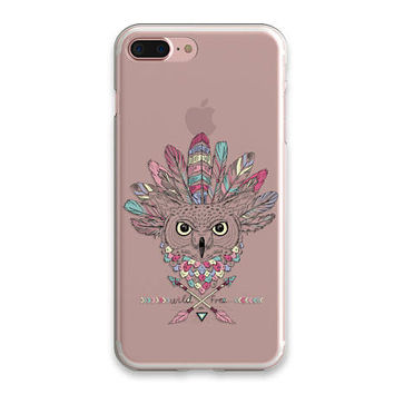 İphone 6 Case Clear Owl iPhone 7 Case Clear American Native iPhone 6 Plus Case iPhone SE Case iPhone 7 Case Soft Transparent iPhone Case