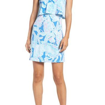 Lilly Pulitzer® 'Shay' Print Jersey Popover Dress | Nordstrom