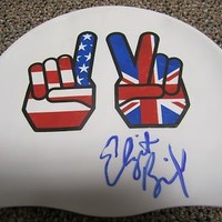 Elizabeth Beisel Signed Swimming Cap Summer 2012 London Olympics U.s.a. Proof - Autographed MLB Helmets and Hats