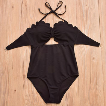 2017 New Sexy Women Patchwork Swimsuit Solid Swimwear Slimming Tankini Underwire Bathing Suit Lace-up Push Up Club Wear