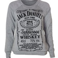 My Associates Store - Womens Jack Daniels Sweater Top