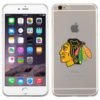 For Iphone 6, 6 Plus, Iphone 5/5s, Iphone 5c, Samsung Note 4 Glossy Transparent Candy Skin Chicago BLACKHAWKS Case