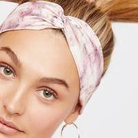 Free People Marble Printed Turban