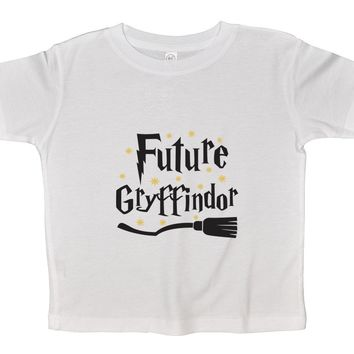 Future Gryffindor Funny Kids Onesuit