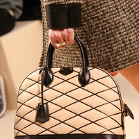 Indie Designs Louis Vuitton Inspired Quilted Alma Malletage Bag