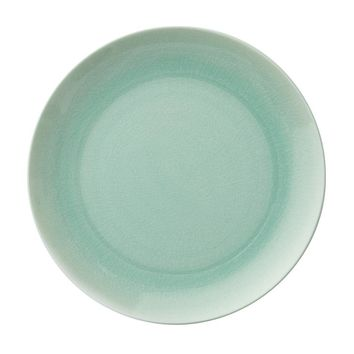 DINNER PLATE IN CRACKLE OPAL   Sea Glass