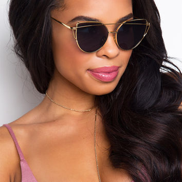 Aria Sunglasses - Black