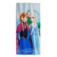 Disney Frozen 'Snowflake' 100% Cotton Beach Towel