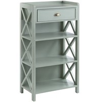 Oxford Bookcase - Sky Blue