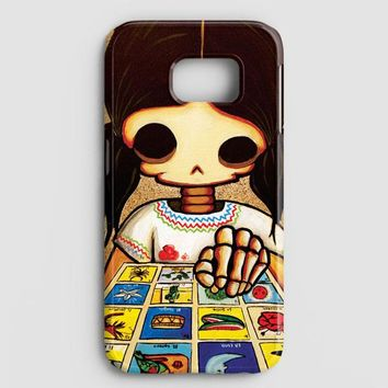 Day Of The Dead Skeleton Girl Samsung Galaxy Note 8 Case