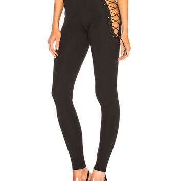 Fenty by Puma Side Lace Legging in Puma Black | FWRD