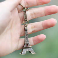 3pcs/lot Torre Eiffel Tower Keychain For Keys Souvenirs, Paris Tour Eiffel Keychain Key Chain Key Ring Decoration Key Holder