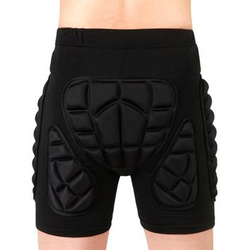 1pc Protective Snowboard Shorts Hip Protective Bottom Padded For Ski Roller Skate Snowboard Hip Protection Pad Sports Gear
