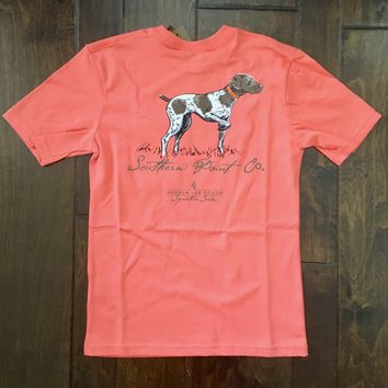 Southern Point - Youth Andrew Lee Signature Tee - Pointer Orange