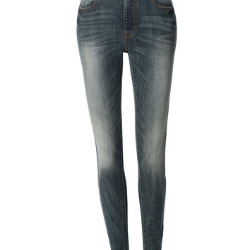 LE3NO Womens Highwaisted Skinny Denim jean Pants with Pockets