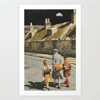 Moonwalk Art Print by Sarah Eisenlohr