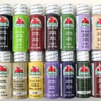Plaid PROMOABII Apple Barrel Acrylic Paint, 2-Ounce, Best Selling Colors II