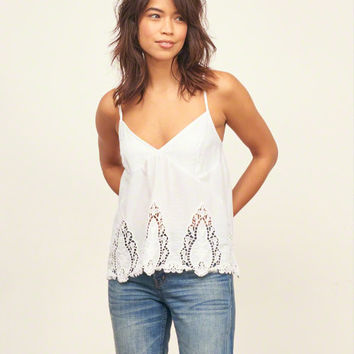 Lace Cutwork Cami
