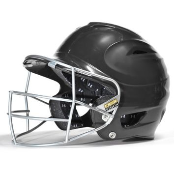Under Armour UABH-100FGB Solid Helmet with Baseball Mask