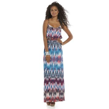 deac6bb0bed Trixxi Juniors  Ruffle Knit Maxi Dress