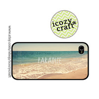 beach iphone case iphone 5 case iphone 4s case by icozycraft