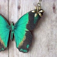Butterfly Series 014 by MySelvagedLife on Etsy