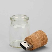 Message In A Bottle Flash Drive- Clear One