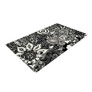 "Monika Strigel ""Neptunes Garden"" Woven Area Rug"
