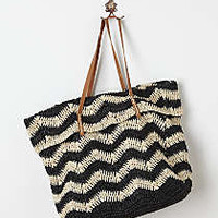 Anthropologie - Ripple Stripe Tote