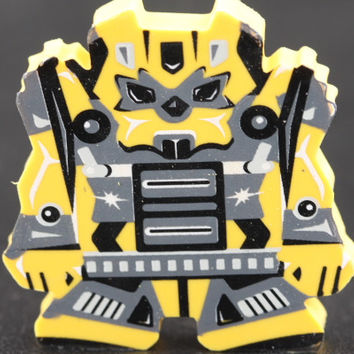 Yellow Mecha Robot Eraser