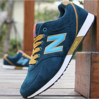 NEW BALANCE Women Men Casual Running Sport Shoes Sneakers Peacock Blue