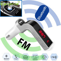 New Arrival Car FM Transmitter Bluetooth Hands-free LCD MP3 Player Radio Adapter Kit Charger or2