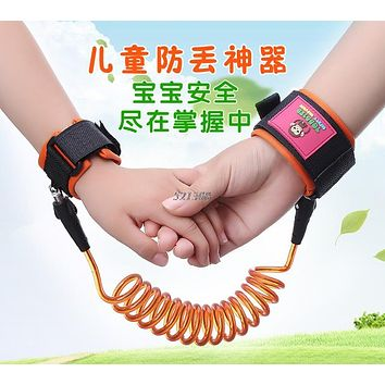 1.5M Anti-Lost Kids Towing Rope Belt Baby Toddler Care Safety Accessories MAR3_30